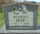 Mildred E. May