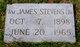 William James Stevens, Jr