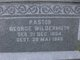 Rev George Wildermuth