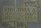 Virginia Caroline <I>Allen</I> Slagle