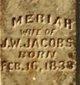 Meriah <I>Tope</I> Jacobs