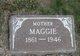 Profile photo:  Maggie <I>Cook</I> Arnold