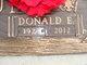 Donald E Balaun