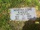 Martha <I>Long</I> Kagley