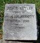 Ada Downman <I>Butler</I> Abbott