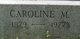 "Profile photo:  Caroline Mary ""Kate"" <I>Curtis</I> Campbell"