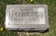 Caroline Helen <I>Mertens</I> Distler