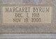Profile photo:  Margaret <I>Byrum</I> AuClair