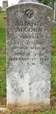 Corp Julian R. Alcorn
