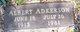 "Profile photo:  Albert ""Studebaker"" Adkerson"