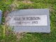 Allie M <I>Thompson</I> Robison