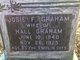 """Josephine F. """"Josie"""" <I>Jenkins</I> Graham"""