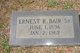 Ernest Raymond Bair Sr.