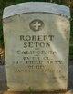 Profile photo:  Robert Seton