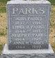 Anna Mary <I>Thacklingburg</I> Parks