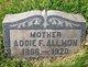 Profile photo:  Addie F. <I>Lewis</I> Allmon