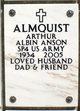 Profile photo:  Arthur Albin Anson Almquist