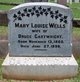 Profile photo:  Mary Louise Wells Cartwright