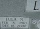 Profile photo:  Eula Destmonia <I>Nelson</I> Love