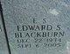 """Edward Spencer """"E S"""" Blackburn"""