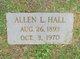 Profile photo:  Allen L. Hall