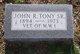 Profile photo:  John R Tony, Sr