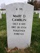 Mary D. <I>Ferguson</I> Camblin