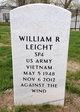 SPC William Robert Leicht