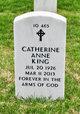 Profile photo:  Catherine Anne King
