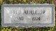 "Profile photo:  Charles Frederick ""Fred"" Aehle, Jr"