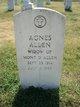 Agnes L Allen