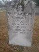 Profile photo:  R E Aaron