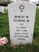 Pvt Byron Wallace Storms, Sr