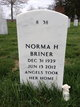 Norma Helen <I>Scott</I> Briner