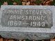 Profile photo:  Fannie <I>Stevens</I> Armstrong