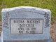 Profile photo:  Bertha <I>Mathews</I> Butcher