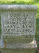 Profile photo:  Martha <I>Young</I> Coggins