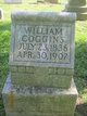 Profile photo:  William Coggins