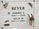 Edward D Beyer