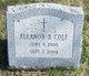 Profile photo:  Eleanor S Cole