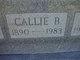 Profile photo:  Callie Blanche <I>King</I> Baines