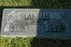 "Mamie Hester ""Nannie"" <I>Turner</I> Lanham"
