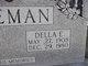 """Elma Rosadale """"Della"""" <I>Edwards</I> Freeman"""