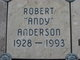 """Profile photo:  Robert Fred """"Andy"""" Anderson"""