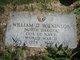 """William David """"Billy"""" Wilkinson"""