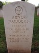 Profile photo:  Abner Rodgers