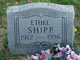 Mary Ethel Shipp