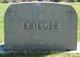 """Susan Alice """"Susie"""" <I>Lee</I> Krieger"""