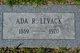 Ada Ruth <I>Bishop</I> Levack