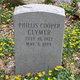 Phillis <I>Cooper</I> Clymer